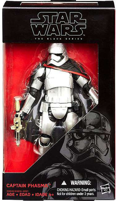 Hasbro Star Wars The Force Awakens Black Series Captain P...