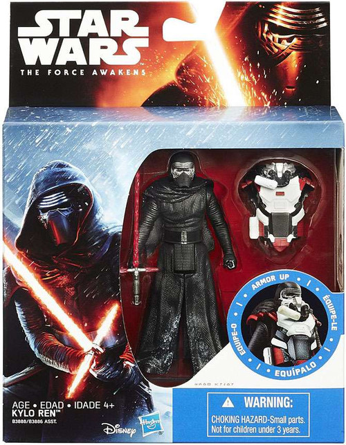 Hasbro Star Wars The Force Awakens Mission Armor Kylo Ren...