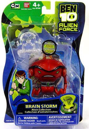 ben 10 alien force alien collection brain storm 4 action