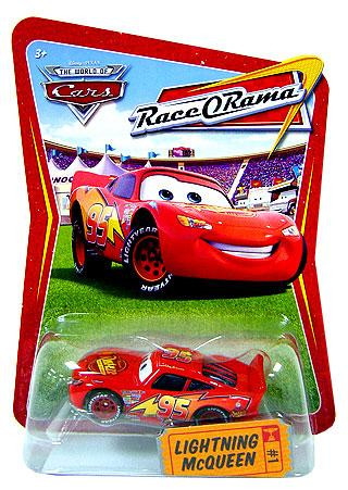 Disney Cars The World Of Cars Race O Rama Lightning Mcqueen