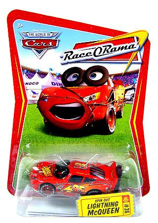 Mattel Disney Cars The World of Cars Race-O-Rama Spin Out...