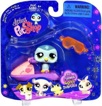 Hasbro Littlest Pet Shop 2009 Assortment B Series 1 Pengu...