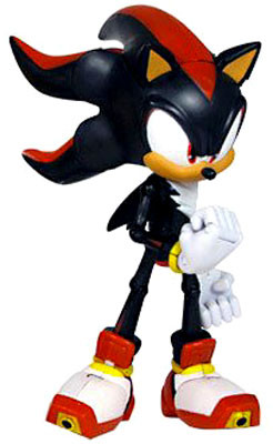 Jazwares Sonic The Hedgehog Super Posers Shadow Action Fi...