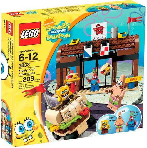 LEGO Spongebob Squarepants Krusty Krab Adventures Set #3833