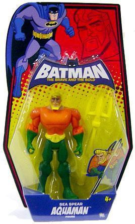 Mattel Batman The Brave and the Bold Sea Spear Aquaman Ac...