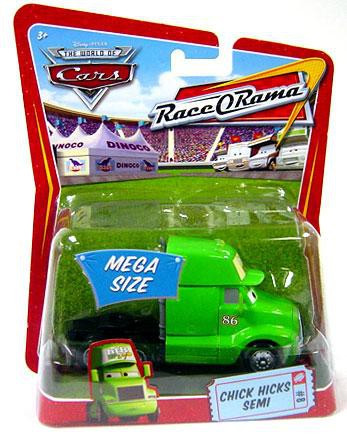 Disney Cars The World Of Cars Race O Rama Chick Hicks Semi