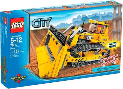 Lego City Dozer Set #7685