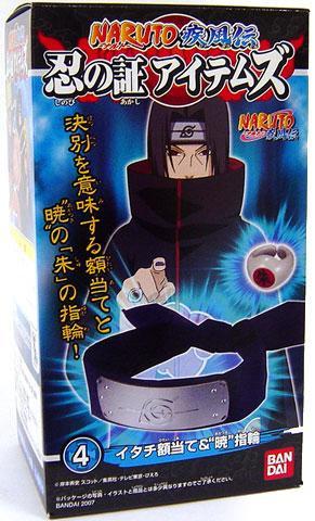 Mattel Naruto Itachi Scarred Headband & Ring