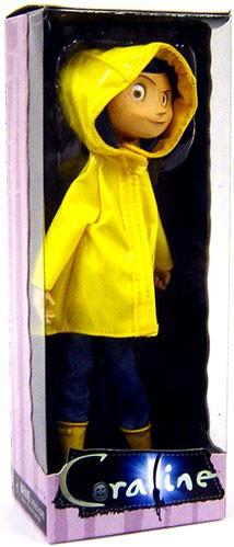 Neca Coraline 7-Inch Bendable Fashion Doll [Raincoat Re-I...
