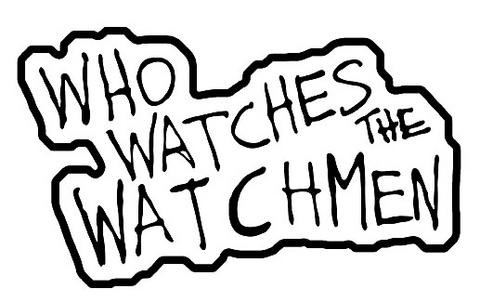 """Neca Who Watches the Watchmen"""" Patch"""