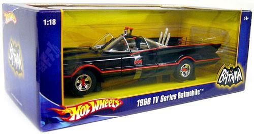 Mattel Hot Wheels Batman 1966 TV Series Batmobile Diecast...