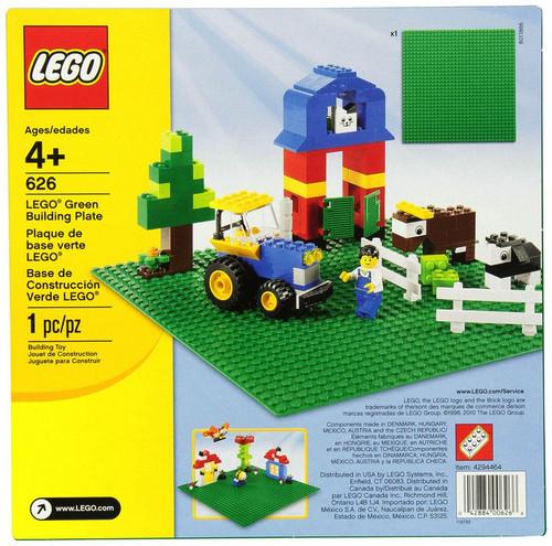 Lego Green Building Plates Set #626