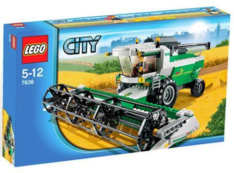 Lego City Combine Harvester Exclusive Set #7636