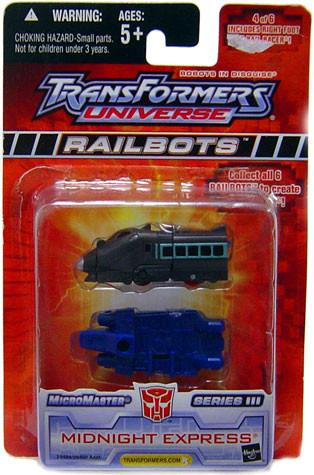 Hasbro Transformers Universe Micromaster Series 3 Midnigh...