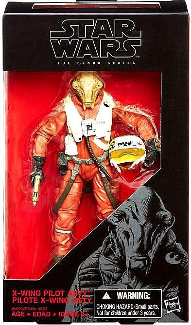 Hasbro Star Wars The Force Awakens Black Series X-Wing Pi...