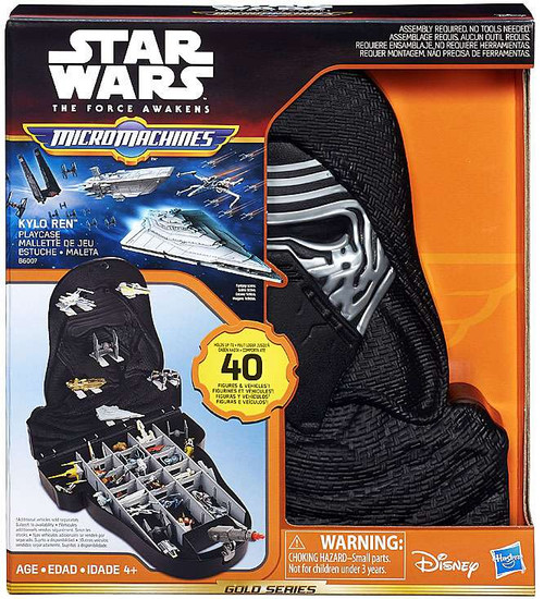 Hasbro Star Wars Micro Machines Kylo Ren Playcase Playset