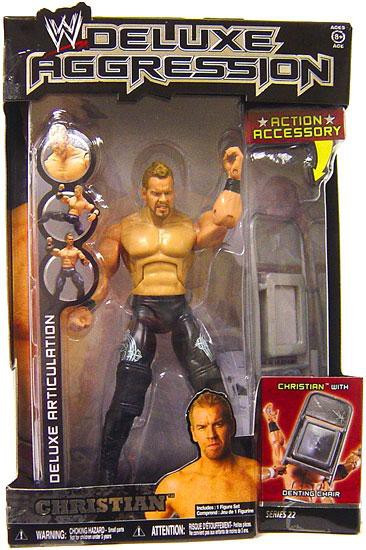 Wwe Wrestling Deluxe Aggression Series 22 Christian Action