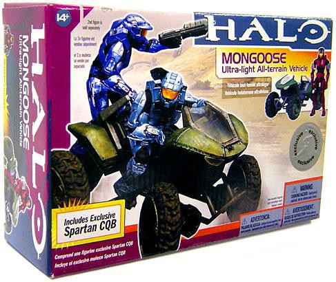 Mcfarlane Toys Halo Deluxe Mongoose Action Figure Vehicle...
