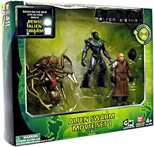 Bandai Ben 10 Alien Swarm Movie Set 1 Action Figure 3-Pac...