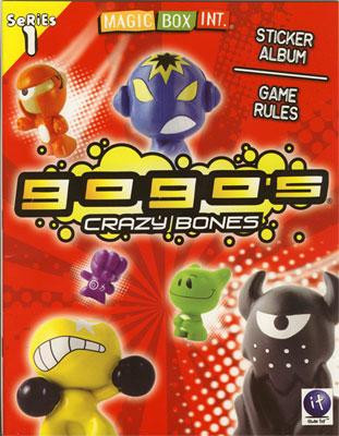 Crazy Bones Gogo's Series 1 Sticker Album