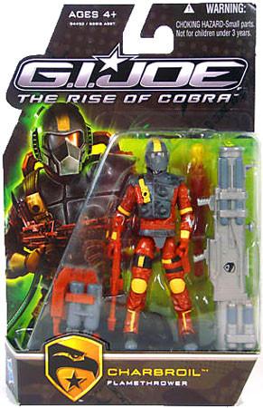 Hasbro GI Joe The Rise of Cobra Charbroil Action Figure