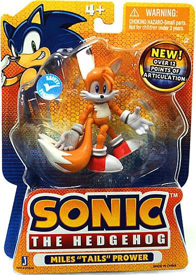 Sonic The Hedgehog Tails 3 5 Action Figure Miles Prower