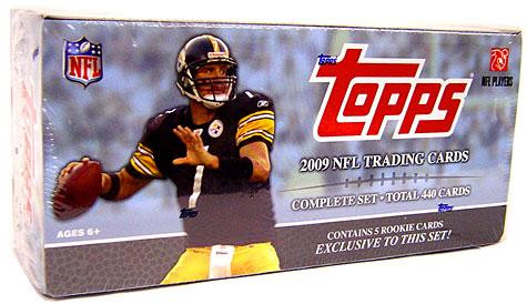 NFL 2009 Topps Football Cards Exclusive Complete Set [Fac...