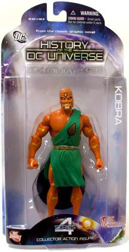 DC Direct History of the DC Universe Series 4 Kobra Actio...