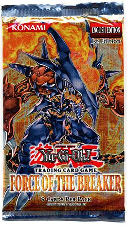 Konami YuGiOh Force of the Breaker Booster Pack
