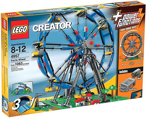 Lego Creator Ferris Wheel Set #4957