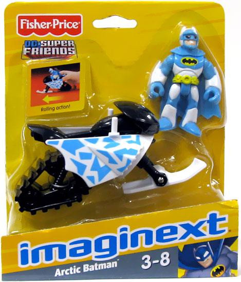 Fisher Price DC Super Friends Imaginext Arctic Batman 3-I...
