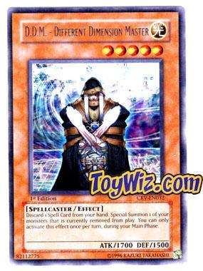 Konami YuGiOh Cybernetic Revolution Rare D.D.M - Differen...