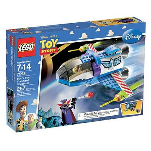 Lego Toy Story Buzz's Star Command Spaceship Set #7593
