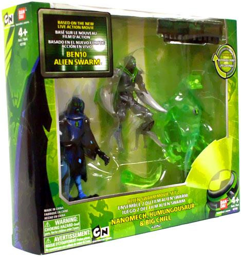Bandai Ben 10 Alien Swarm Movie Set 2 Action Figure Set