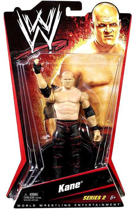 Mattel WWE Wrestling Series 2 Kane Action Figure