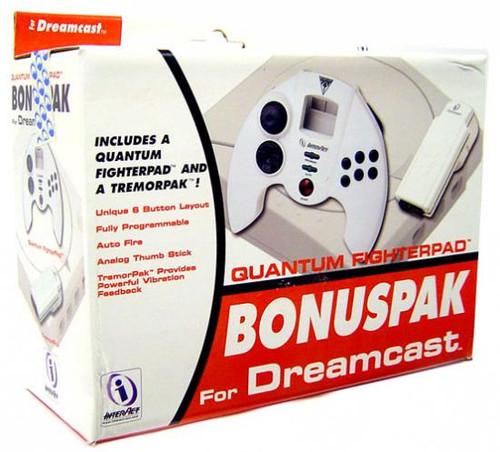 Sega Dreamcast Quantum Fighterpad Bonuspak Video Game Con...