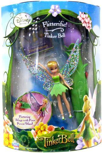 Playmates Disney Fairies Flitterific Tinker Bell 3.5-Inch...