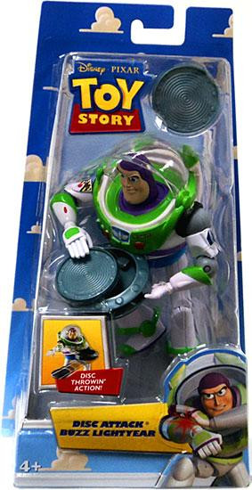Is Saturday A Business Day For Ups >> Toy Story Buzz Lightyear 5 Action Figure Disc Attack Mattel Toys - ToyWiz