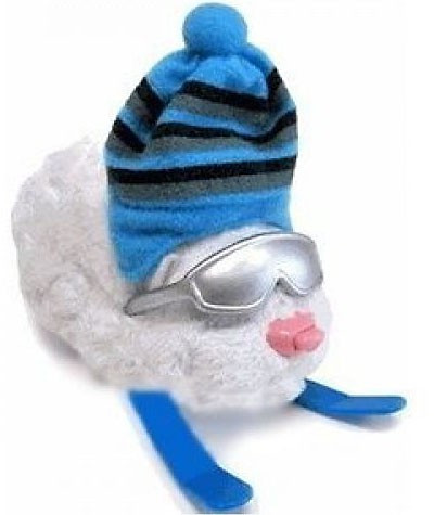 Cepia Zhu Zhu Pets Series 2 Hamster Outfit Skis & Hat Acc...