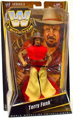 Mattel WWE Wrestling Legends Series 2 Terry Funk Action F...