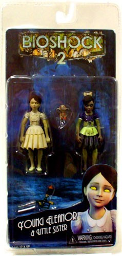 neca bioshock 2 series 2 young eleanor little sister action figure 2 pack toywiz. Black Bedroom Furniture Sets. Home Design Ideas