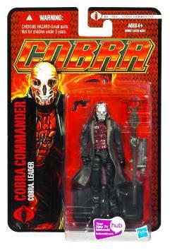 Hasbro GI Joe Pursuit of Cobra Cobra Commander Action Fig...