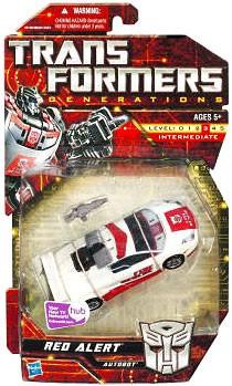Hasbro Transformers Generations Deluxe Red Alert Deluxe A...