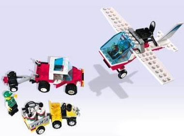 Lego System Dragon Fly Set #2147