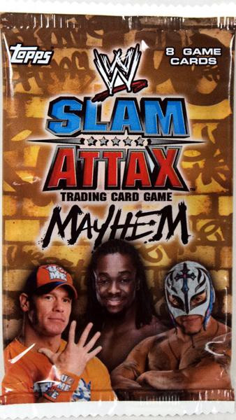 Topps WWE Wrestling Slam Attax Mayhem Series 2 Booster Pack