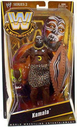 Mattel WWE Wrestling Legends Series 2 Kamala Action Figure