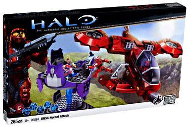 Mega Bloks Halo The Authentic Collector's Series UNSC Hor...