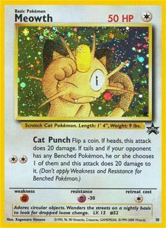 Wizards Of The Coast Pokemon Promo Cards WotC Promo Meowt...
