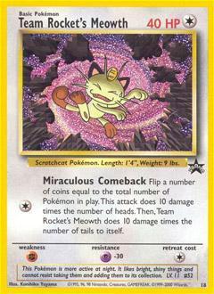 Wizards Of The Coast Pokemon Promo Cards WotC Promo Team ...
