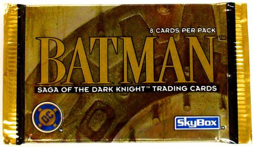 Topps Batman Saga of the Dark Knight Trading Card Pack